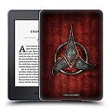 Head Case Designs Officiel Star Trek Empire Klingon Insignes Étui Coque en Gel Molle pour Amazon Kindle Paperwhite 3