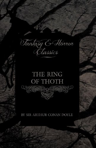 The Ring of Thoth (Fantasy and Horror Classics) Cover Image