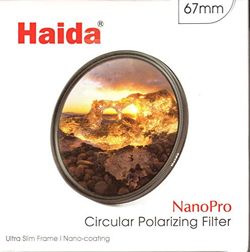 HAIDA Ultra Slim Nano Pro MC CPL - 67 mm - Polarisationsfilter der neuesten Generation