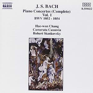 J.S. Bach: Complete Piano Concertos Vol.1; BWV 1052-1054