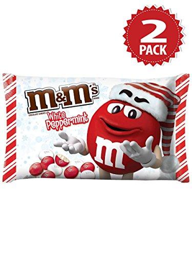M&M's White Peppermint - 2er Pack (2x227g) - Weihnachten Sonderausgabe