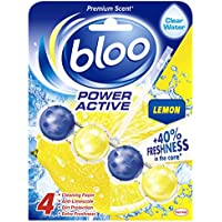 Bloo Power Active Lemon Toilet Rim Block, 50 g