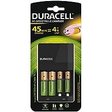 Duracell CEF14 - Cargador de pilas en 4 horas