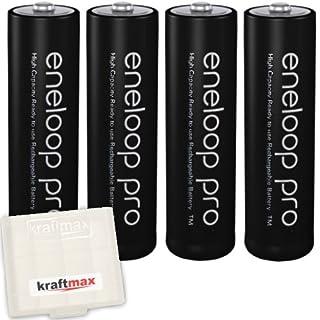 Kraftmax Panasonic Eneloop PRO XX AA / Mignon Akkus  (3. Generation, 2550 mAh Hochleistungs) (4er Pack)