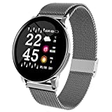 Chenang Smartwatch, Fitness Armband Wasserdicht Smart Watch Intelligente Fitness Tracker Aktivitäts Uhr Armbanduhr mit Pulsmesser Schlafmonitor Anruf Beachten Damen Herren für Android iOS
