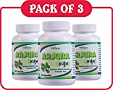 Arjuna Capsules 500 mg, Pack Of 3 (180 Capsules) For Heart & Blood