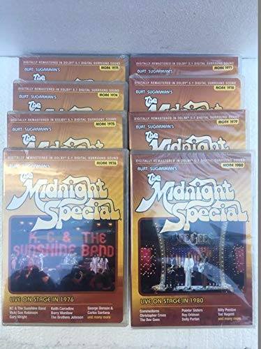 MIDNIGHT SPECIAL: THE MORE COLLECTION 1973-1980 8-DISC DVD SET