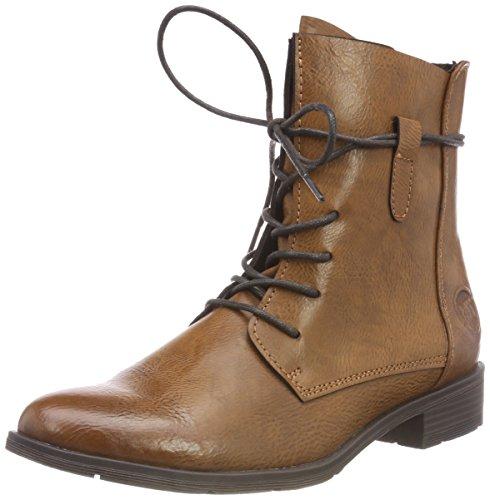 MARCO TOZZI Damen 2-2-25110-31 310 Combat Boots Braun (Cognac Antic), 39 EU