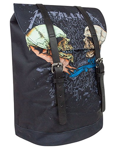 Rock Sax Metallica Sad But True Heritage Backpack (Schädel-große Satchel)