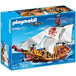 Playmobil - Barco pirata de juguete.