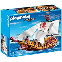 PLAYMOBIL Red Serpent Pirate Ship by Playmobil
