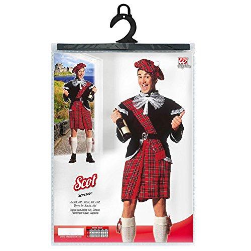 Imagen de widman  disfraz de escoces para hombre, talla xl 3240s  alternativa