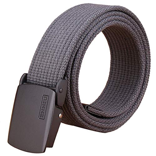 Fansport Mi Gürtel Atmungsaktiv Verschleißfeste Leinwand Gürtel Gurtband Gürtel für Männer - Leinwand Gurtband