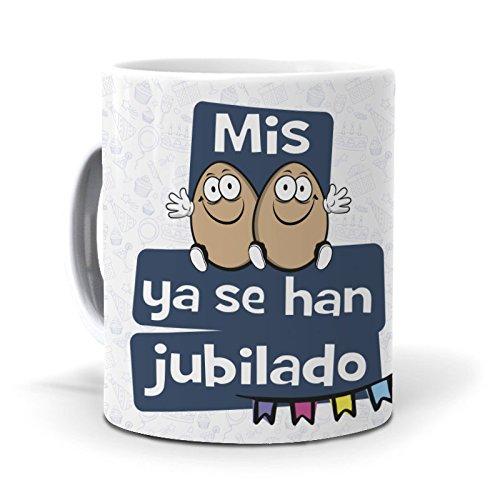 Mundohuevo Taza Mis Huevos ya se han Jubilado