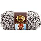 Lion Brand Yarn Company 1-Piece Hometown USA Yarn, Dallas Grey