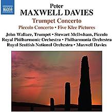 Maxwell Davis: Piccolo/ Trumpet Concerto (Peter Maxwell Davies, Stewart McIlwham, John Wallace, RPO, RSNO, PO) (Naxos: 8572363)
