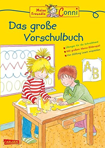 Conni Das große Vorschulbuch (Neues Cover) (Conni Gelbe Reihe)