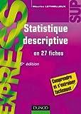 Statistique descriptive - 6 ème édition
