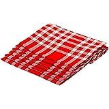 Serviette De Table 50X50 Normande Rouge