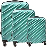 Set-de-3-valises-Oramics-Valise-Cabine-Valises-25-litres-39-litres-65-litres-Turquoise