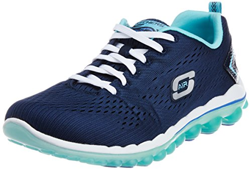 Skechers - Skech-air 2.0 aim High, Scarpe da ginnastica Donna Blu (Blau (NVLB))