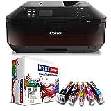 Canon Pixma MX925 Multifunktionsdrucker (Drucker, Scanner, Kopierer, Fax, WLAN) mit 10 kompatiblen OFFICE-Partner Patronen + USB Kabel (Originalpatronen nicht im Lieferumfang)