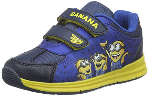 MINIONS Jungen Boys Kids Athletic Sport Low-Top Blau (NV/LN/LN/CBL 210)