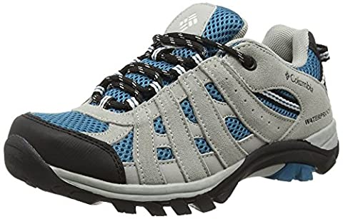 Columbia Jungen Youth Redmond Explore Waterproof, Dark Compass/White, 7, BY3228 (Columbia Kinder Schuhe)