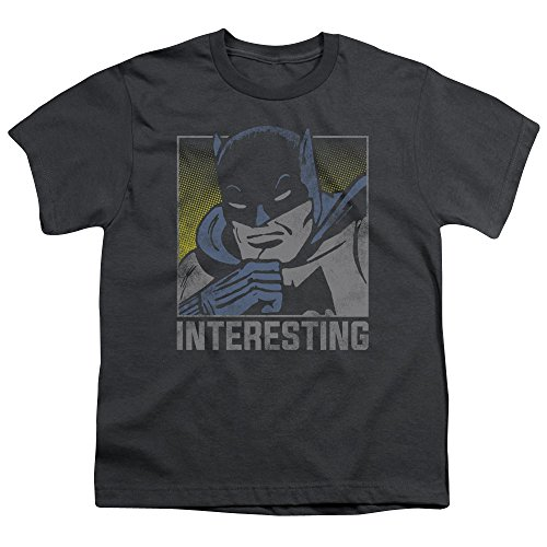 DC - Dc - Youth Interesting T-Shirt Charcoal