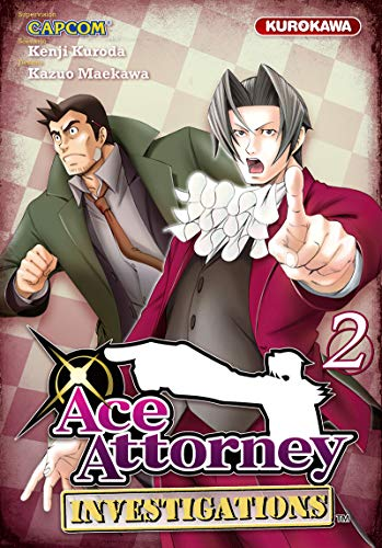 Ace Attorney - Investigations Vol.2