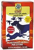 MONDO Verde rEP01–Répulsif chiens et chats poudre de 150g, couleur rouge