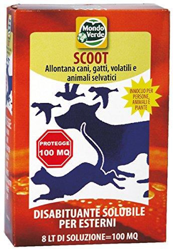 Mondo Verde REP01 Repelente Perros y Gatos Polvos de 150 g, Rojo,...