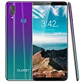 CUBOT X19 4G LTE Smartphone ohne Vertrag Handy 5.93″ FHD Bildschirm Android 9.0 64GB Speicher 4GB RAM 4000mAh Akku Dual-Kamera Dual-SIM (Twilight)