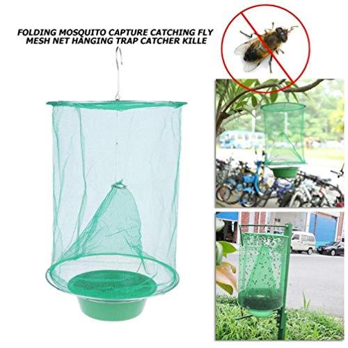 Folding Mosquito Capture-Fangen Fly Mesh-Net Hanging Falle Insekt Bug Catcher Indoor Outdoor Moskito Insektenfänger 20#