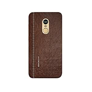 RICKYY Joint design printed matte finish multi-colored back case cover for Xiaomi Redmi Note 4