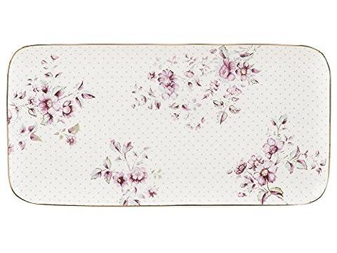 Katie Alice petites fleurs Blanc Plateau à servir