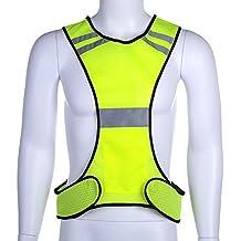 Per Chalecos de Seguridad Reflectante para Noche Chaleco de Alta visibilidad para Correr o Montar Bici por la Noche