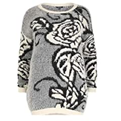 983d6cfb5d9 Samya Plus Size Womens Grey Mohair Effect Floral Abstract Pri ... by Samya  · £19.99 · Samya Yours Plus Size Patchwork Russian Print Coat Jacket 16 ...