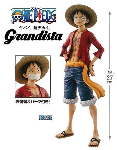Action & Toy Figures One Piece King Of Artist Monkey D Luffy 27cm Straw Hat Pvc Acation Figure Model Toys Colours Are Striking