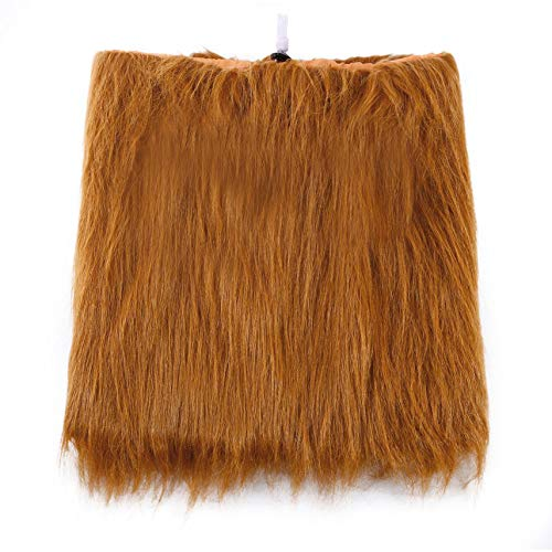 Bubbry Haustier Kostüm Hund Löwe Perücken Mähne Haar Schal Kleidung Festival Party Halloween (Löwe Kostüm Haar)