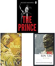 The Prince + The Republic + The Art of War(Set of 3 Books)