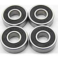 Kugellager 28 x 12 x 8 mm 6001 ZZ = 2Z Rillenkugellager Lager Metallabschirmung