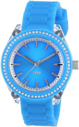 Esprit Damen-Armbanduhr Play Analog Silikon A.ES900672009