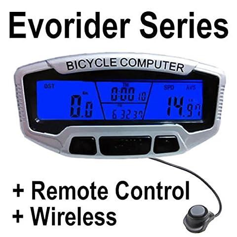 Gaddrt Nouveau Cyclisme Bicyclette Vélo Ordinateur Velo Speedo Odomètre Tachymètre + Rétro-éclairage