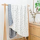 WSAD Baumwolle Decke Decken, Einfache Sommer Nickerchen, Dünne Decke, 120 * 150Cm,Q