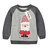 Die besten Weihnachten Jumpers - Sweatshirt Baby Shirt Weihnachten Hirsch Fleecepullover langarm Babykleidung Bewertungen