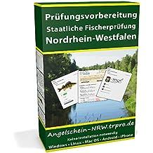 Online Trainer für die staatliche Fischerprüfung Nordrhein-Westfalen 2018 (Zugangslizenz)