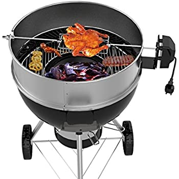 jx charcoal grill kettle rotisserie ring 22 1 2 57 cm. Black Bedroom Furniture Sets. Home Design Ideas