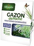 Vilmorin 4470810 Gazon de Poche Zone Ombragée Sachet Souple de ...