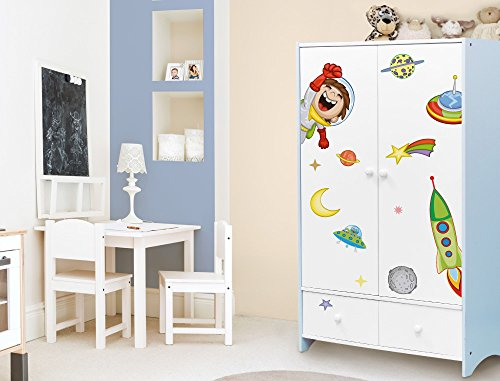 I-love-Wandtattooo ILWS-19-009 - adesivi mobili set per la camera bambini